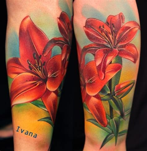 tattoo flower lily lily tattoos the best flower tattoos