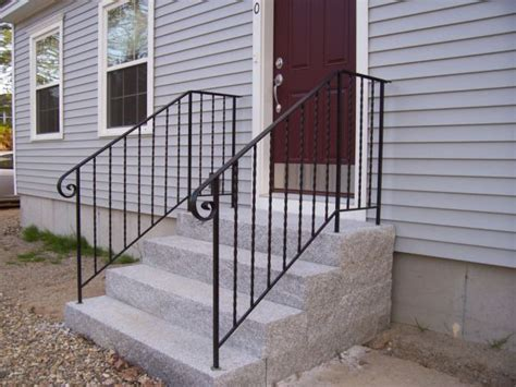 wrought iron railings the best choice for outdoor
