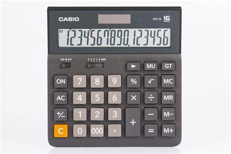 Calculator Casio Dh 12 jual casio dh 16 jual casio desktop dh 16 di