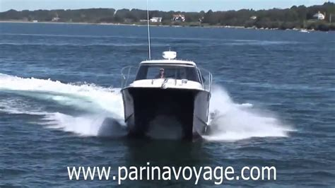 catamaran boat video fishing boat power catamaran quot arrowcat 30 quot youtube