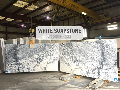 How To Get White Soapstone - white crocodile rocks