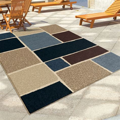 Large Indoor Area Rugs Orian Rugs Indoor Outdoor Blocks Graycliff Multi Area Large Rug 1848 8x11 Orian Rugs