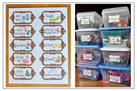 label templates for toy boxes 1000 images about playroom toy labels on pinterest