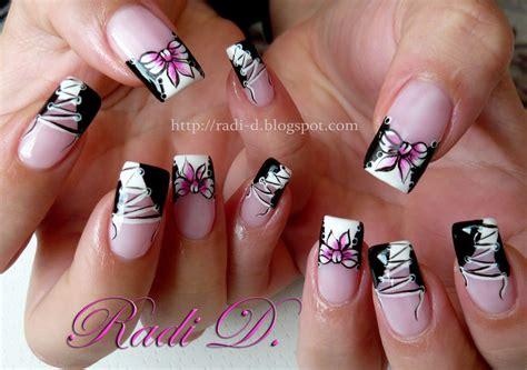 nail art corset tutorial corset and one stroke bow nail art by radi dimitrova