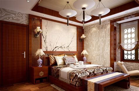 chinese bedroom brown wood in china bedroom download 3d house