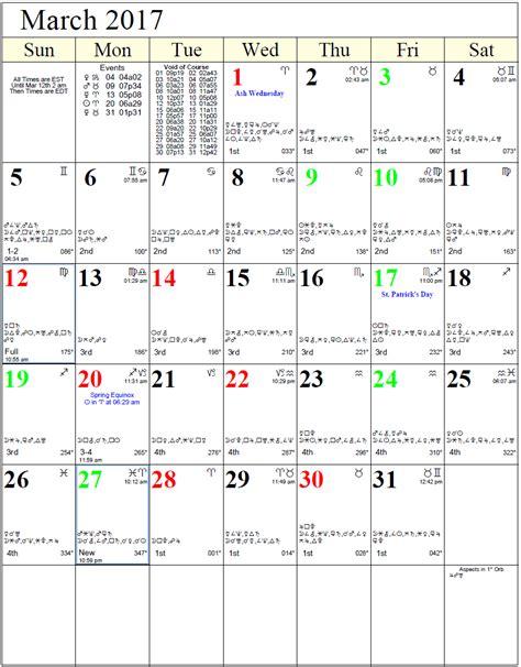 Astrological Calendar Astrological Lunar Calendar Calendar Template 2016