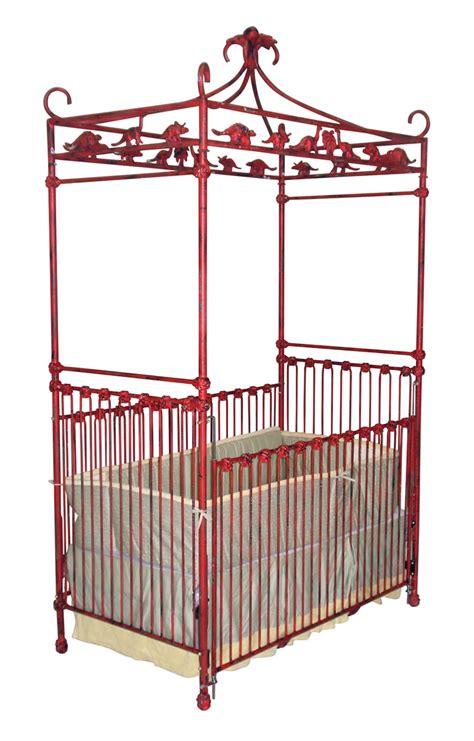 dinosaur canopy crib