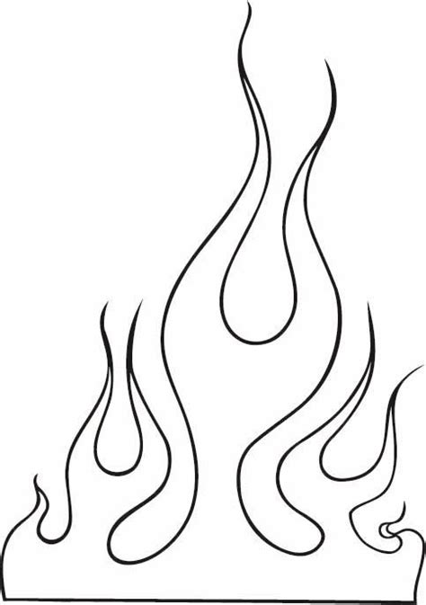 camo flame tattoo flame outline images clip art 10 flames tattoo outline