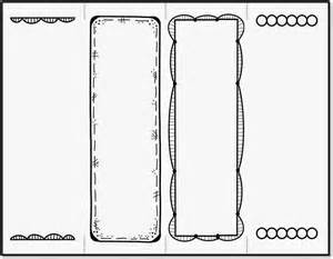 create your own bookmark template bookmark template to print activity shelter