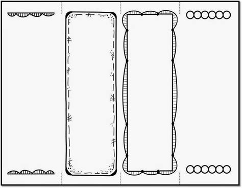 make a bookmark template bookmark template to print activity shelter