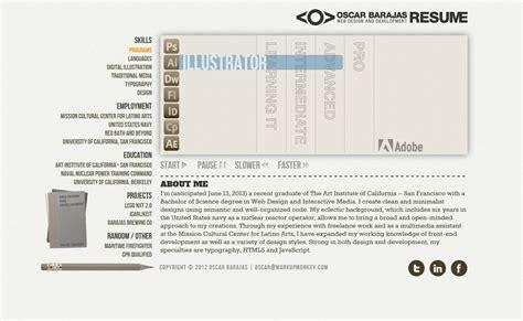 oscar barajas portfolio web design and development san francisco bay area web design and