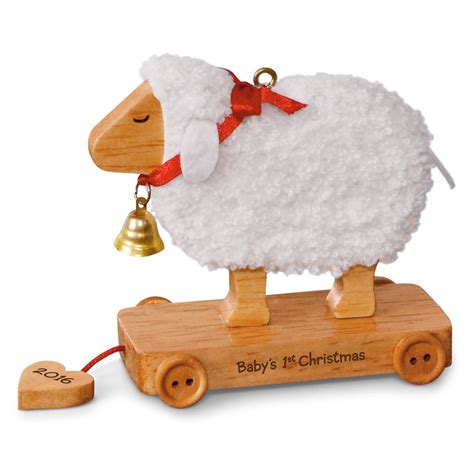 2016 baby s first christmas little lamb hallmark