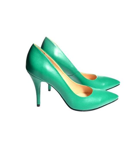 emerald green high heels emerald green high heels pointed shoes shoes