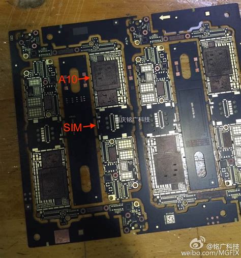 iphone board layout bare iphone 7 logic boards surface in new photos mac rumors