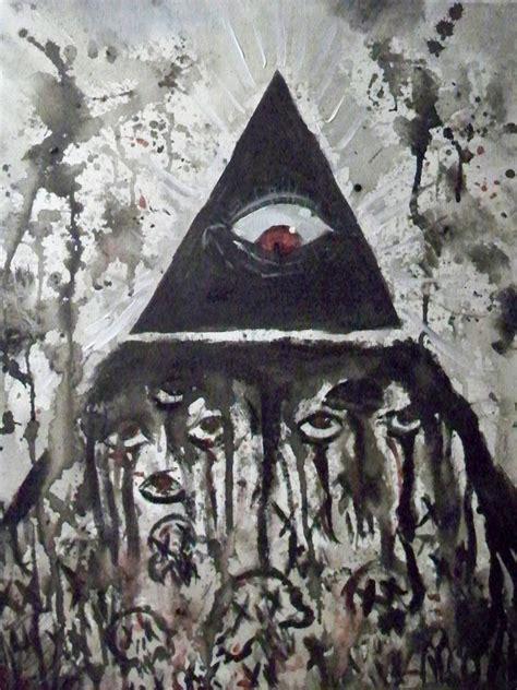illuminati the eye illuminati eye by corpse boy on deviantart