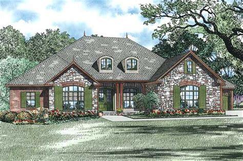 stone ranch with european flair hwbdo77256 ranch from european ranch house plans home design 1352