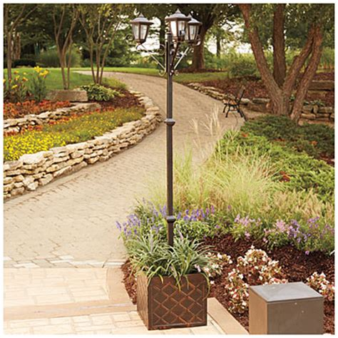 big lots outdoor lights wilson fisher 174 solar light post big lots