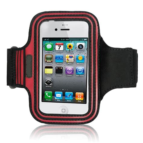 Sporty Phone Armband china high quality cell phone sport armband pouch breathable mesh shaped black for iphone