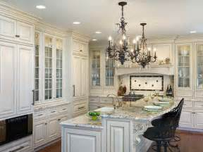 Kitchen Chandelier Lighting Ideas White Kitchen Island Chandeliers Decorating Ideas