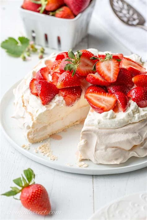 Pavlova For Pavlova by Strawberry Mascarpone Pavlova Recipe Saving Room For