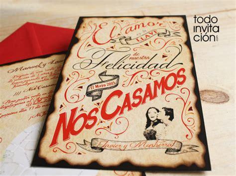 crear imagenes retro online 8 invitaciones de boda vintage 8 grandes dise 241 os