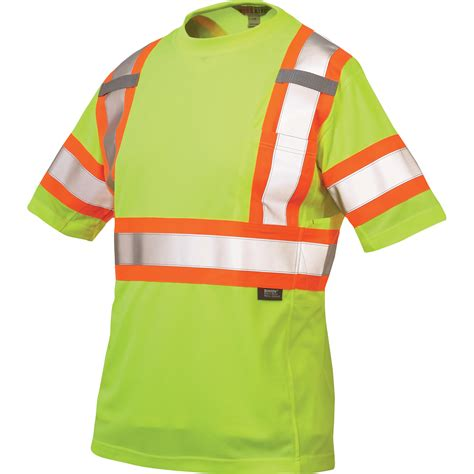 3m logo s s t shirt work king s class 2 high visibility t shirt with 3m