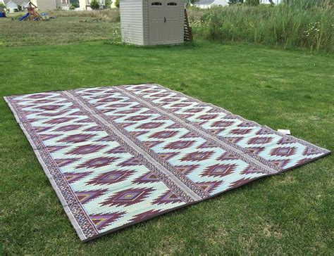 patio mats for rvs outdoor patio rug 9x12 rv cing picnic mat reversible