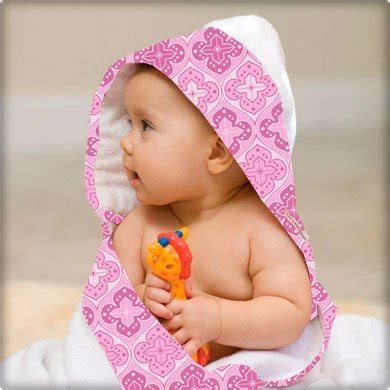 Baby Pinkis Low Pricedbebe Au Lait Baby Hooded Towel Shrine Pink