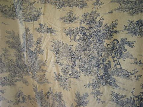blue toile curtain panels french toile de jouy door curtain blue vintage curtains