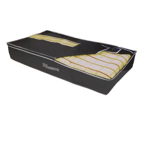 under bed organizer under bed storage bag easy access zip duvet pillow clothes