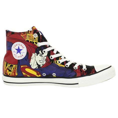 superman shoes converse ct hi black royal superman shoes us size s 9