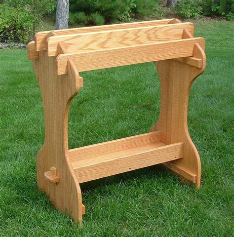 crafted saddle stand by amish outdoor furniture