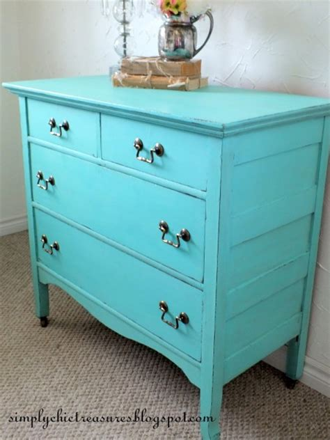 Colorful Dressers Furniture by Colorful Furniture Makeovers The 36th Avenue