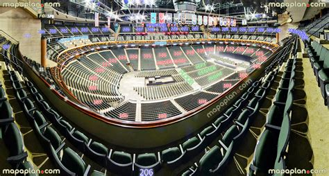 Palace Of Auburn Hills Floor Plan by Xcel Energy Center View From Section 206 Row 4 Seat