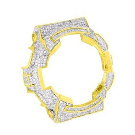 Painting G Shock Bezel by G Shock Ga100 Bezel Simulated Iced Out