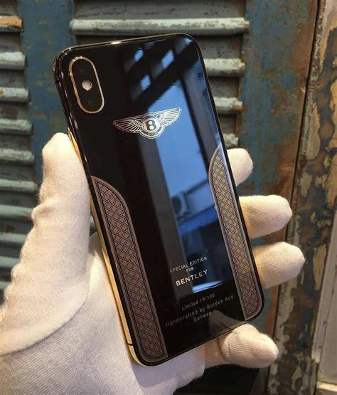 bentley phone make a bold statement with the iphone x bentley edition