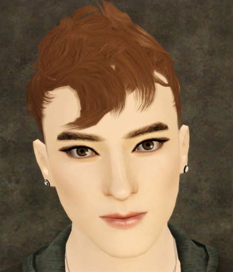 1800s hairstyles for sims 3 the sims 3 cool hairstyle wavy hawk by jasumi