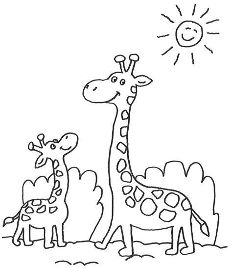 Schablone Für Arbeitsplatten by 11 Besten Giraffe Ausmalbilder Bilder Auf