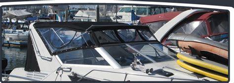 boat upholstery marina del rey marina del rey client full custom enclosure with custom
