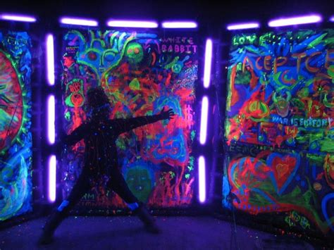 Glow In The Decorations Ideas by Glow In The And Black Light Ideas