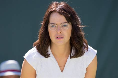 emma stone billie jean king battle of the sexes emma stone on preparing to play