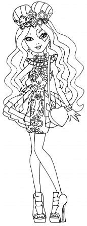 ever after high pet coloring pages desenhos para colorir ever after high