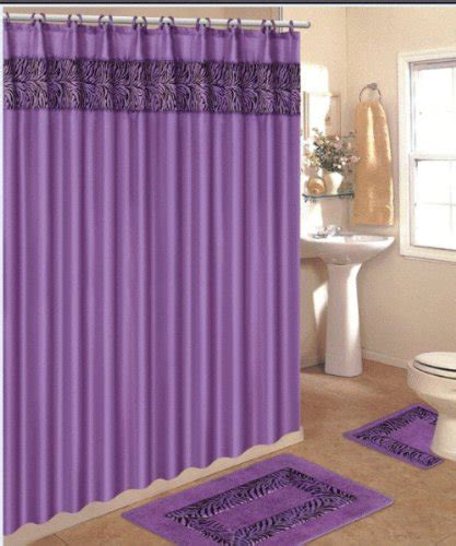 matching curtains and rugs how to incorporate purple bathroom accessories