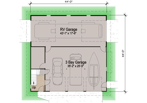 house plans with rv garage shingle rv garage 39 motor home southern cottages