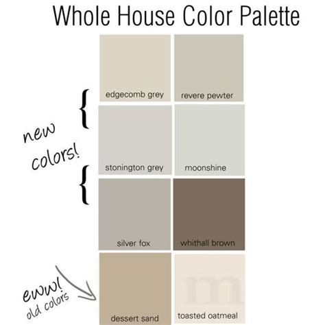 whole house color palette pinterest the world s catalog of ideas