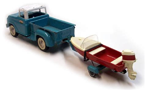 toy boat trailer and truck toy trucks with trailers and boat
