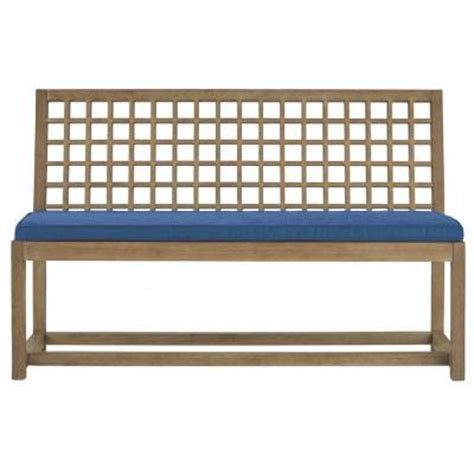martha stewart bench cushion martha stewart living deer isle patio bench with