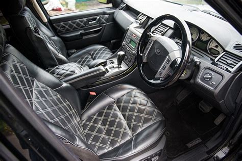 range rover leather seats range rover owned by david beckham for sale at auction