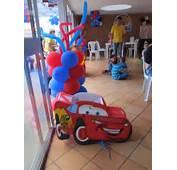 DECORACION DE FIESTAS INFANTILES CARS  Recreacionistas