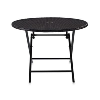 radiant circular folding table buy folding tables from bed bath beyond